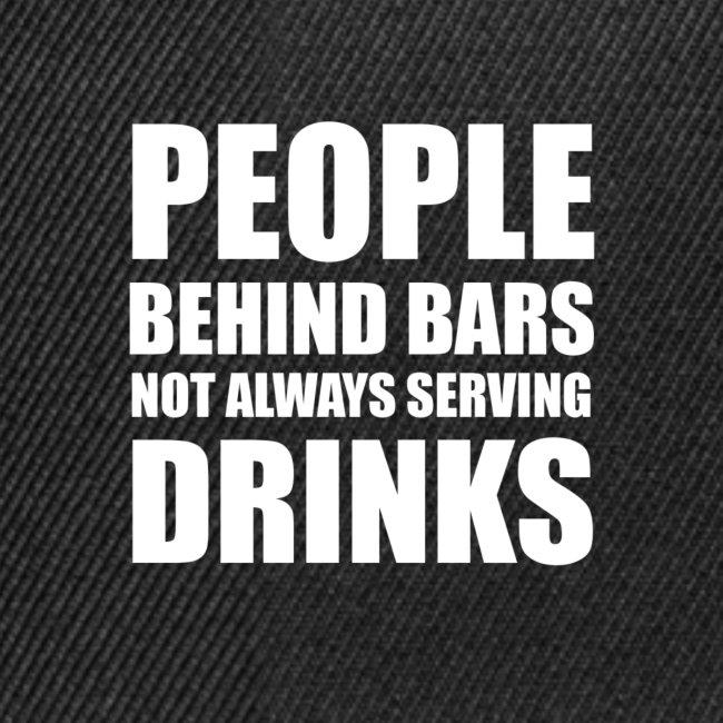 People behind bars