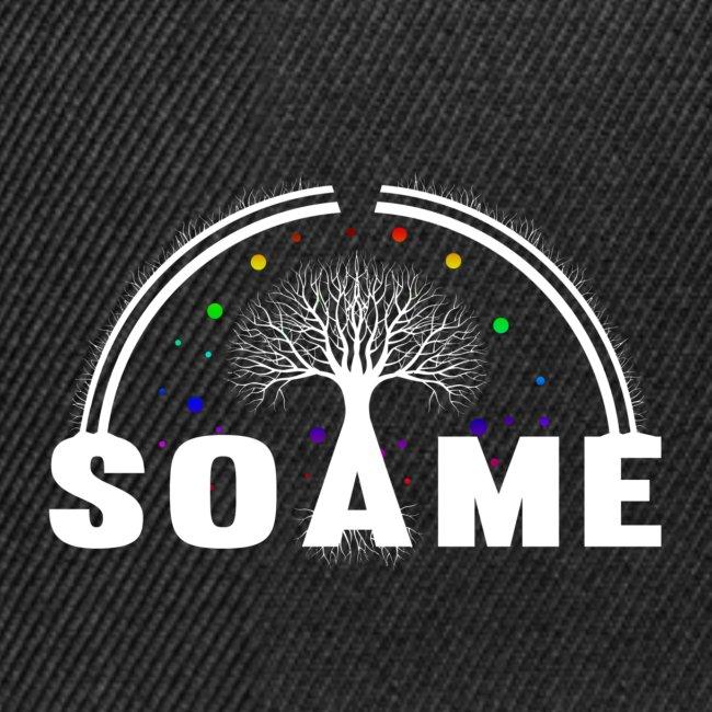 SOAME - Logonoir blanc