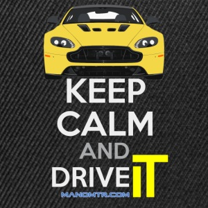 Keep Calm and Drive IT - Ref: A-SVantageS - Snapback Cap