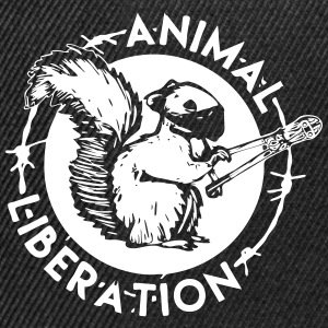 Animal Liberation Squirrel - Snapback Cap
