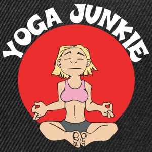 Yoga Junkie - Casquette snapback