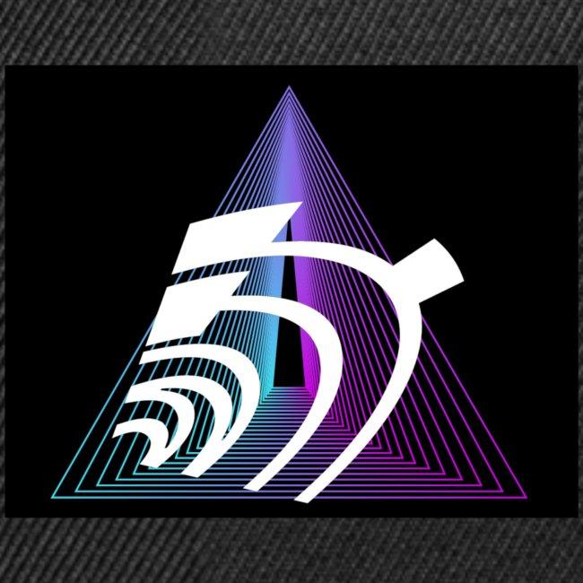 WTF Cool mystic space pyramid geek radar T-shirt