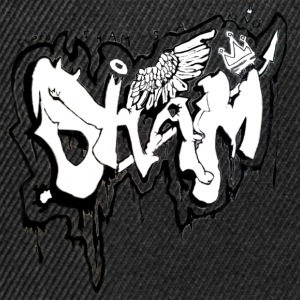 SHAM Officiel Graffiti Hoodie Black - Snapback Cap
