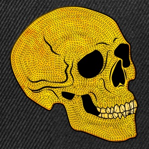 YellowSkull - Snapback-caps