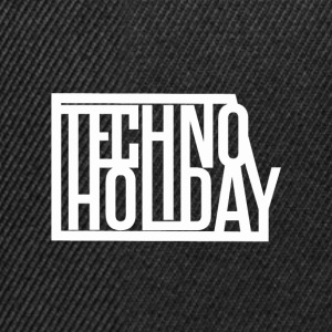 Techno Holiday - Casquette snapback