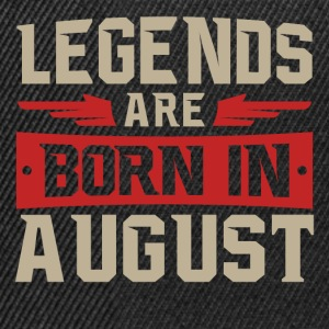 LEGENDS fødes i august - Snapback Cap