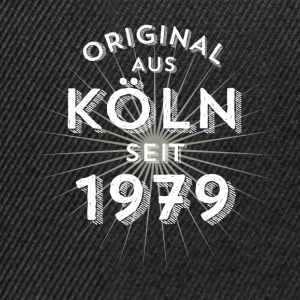 Original from Cologne since 1979 - Snapback Cap