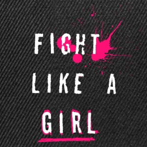 Fight Like A Girl - Snapback Cap