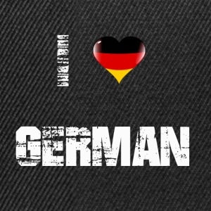 germany1 - Snapback Cap