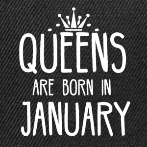 Queens are born in January - Snapback Cap