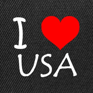 I Love USA - Snapback Cap