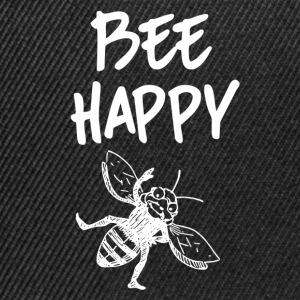 ++Bee Happy++ - Snapback Cap