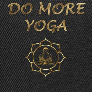 do more yoga - Snapback Cap