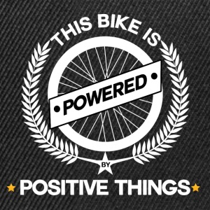 Bike powered by positive Things - Mountainbike - Snapback Cap