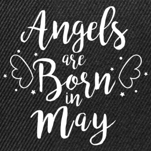 Angels are born in May - Snapback Cap