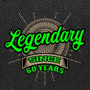 Legendary since 60 years t-shirt and hoodie - Snapback Cap