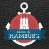 Made in Hamburg - invert - Snapback Cap