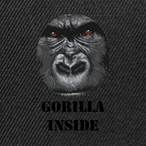 Gorilla all'interno - Snapback Cap