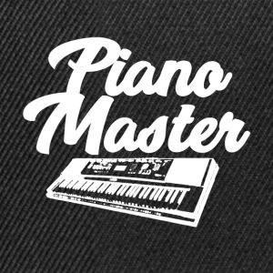 Piano Master - Music Passion - Snapback Cap