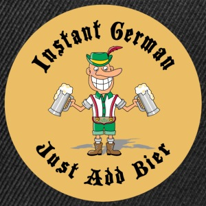 Instant German Just Add Bier Beer - Casquette snapback