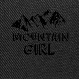 Mountain girl - Snapback Cap
