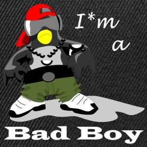 Bad Boy Pinguin - Snapback Cap