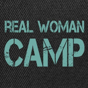 REAL WOMEN CAMP - Snapback-caps