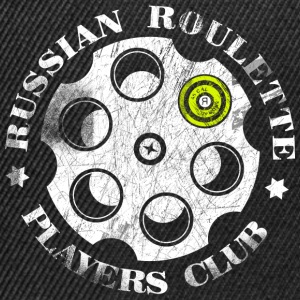Roulette Players Club russe - Casquette snapback