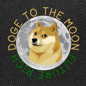 DOGE TO THE MOON - Snapback Cap