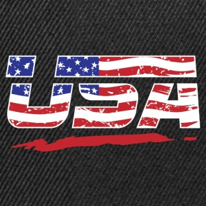 United States flag! America! US! Patriot! - Snapback Cap
