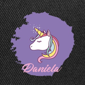 The Unicorn Daniela - suitable for giving away - Snapback Cap