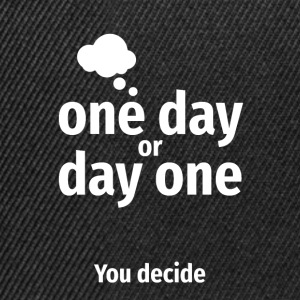 One day - Snapback Cap