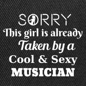 Sorry this girl is already taken by a musician - Snapback Cap