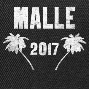 Malle 2017 - T-shirt Malle - Casquette snapback