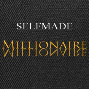 Self Made Millionaire Gold - Snapback cap