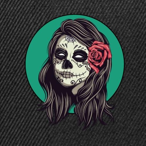 Tête de mort mexicaine - Casquette snapback