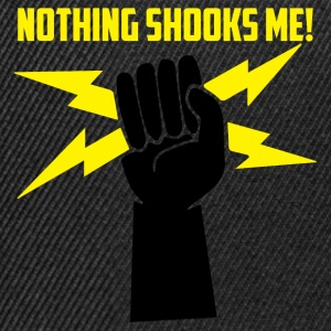 Electricians: Nothing Shooks me! - Snapback Cap