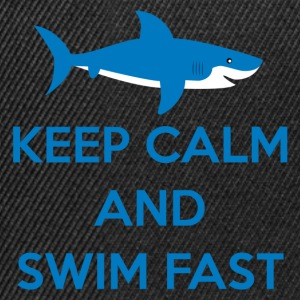 Swimming / Swimmer: Keep Calm And Swim Fast - Snapback Cap