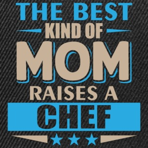 Mom Chef - mother cook - Snapback Cap