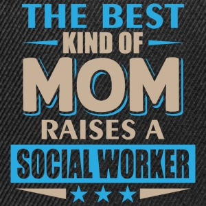 Mom Social Worker - Mother - Snapback Cap