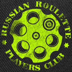 Russian Roulette Players Club Neon Vintage - Snapback Cap