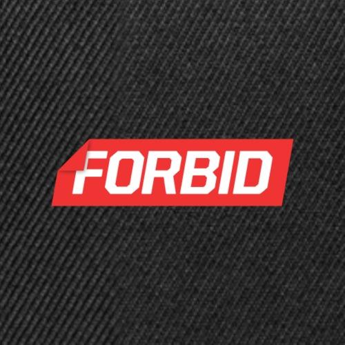 Forbid Box - Snapback Cap