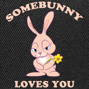 Easter Somebunny Loves You - Snapback Cap
