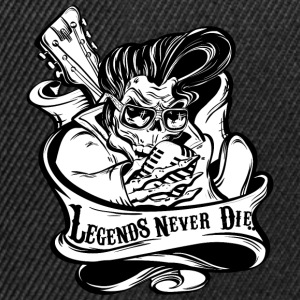 Legends Never Die - Snapback cap