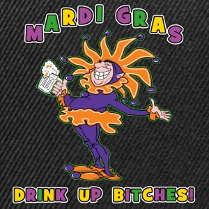 Mardi Gras Drink Up Bitches - Casquette snapback