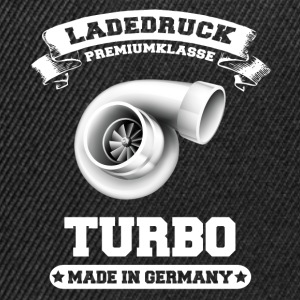 Ladedruck Turbo Made in Germany - Snapback Cap