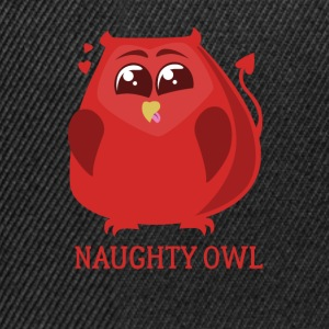 Naughty Owl St Valentines Day amantes del regalo - Gorra Snapback