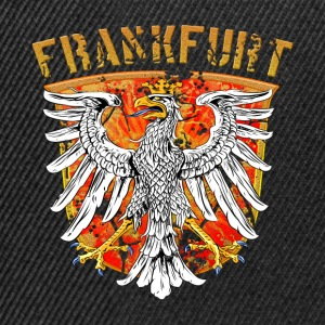 Frankfurt city Wappenadler Design - Gold Edition - Snapback Cap