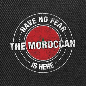 Avez-No Fear The Moroccan Is Here Shirt - Casquette snapback