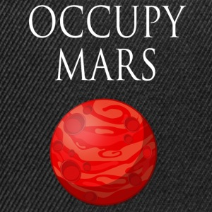 Occupy mars Space - Snapback-caps